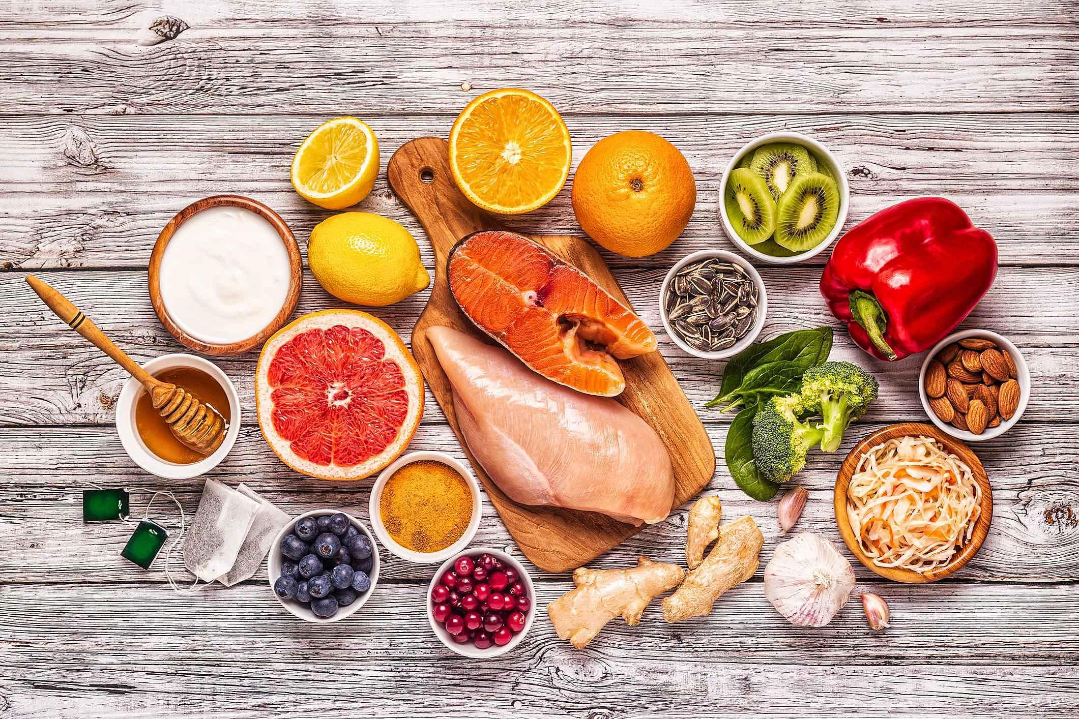 Saúde imunológica: veja quais alimentos ajudam a manter o organismo saudável